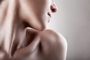 下巴和脖子的老化